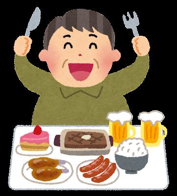 糖質・脂質の偏った食事